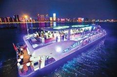 """国内首艘大型新能源全电动商旅游船——""""君旅号""""游船"""