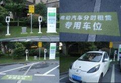 在上海选择电动汽车(EV)分时租赁比买车更划算