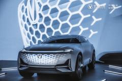 无边界格栅,是Vision-V概念车最直观的惊艳之处