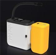 九号电动极速充气宝开售:既能当打气筒,又能当充电宝